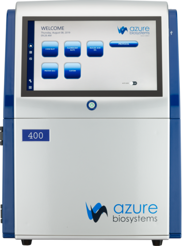 Azure400 RGB Chemi Blue Light White light UV | Azure Biosystems