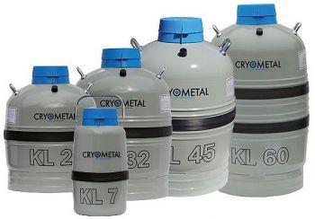 Zásobník na kapalný dusík typu KL7 | Cryometal