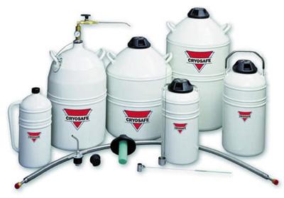 Nádoba na kapalný dusík LD4 | Cryosafe