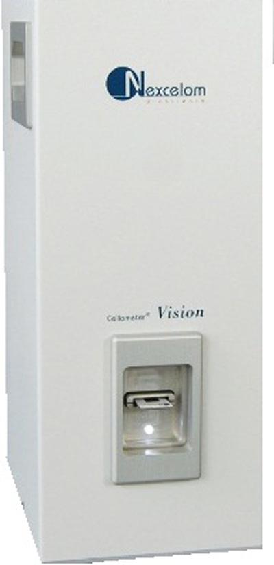 Cellometer Vision (2 kanály) Přístroj na počítání buněk s fluorescencí | Nexcelom
