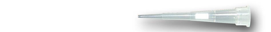 Špičky s filtrem MicroVolume 0.5 - 10 µl. sterilní
