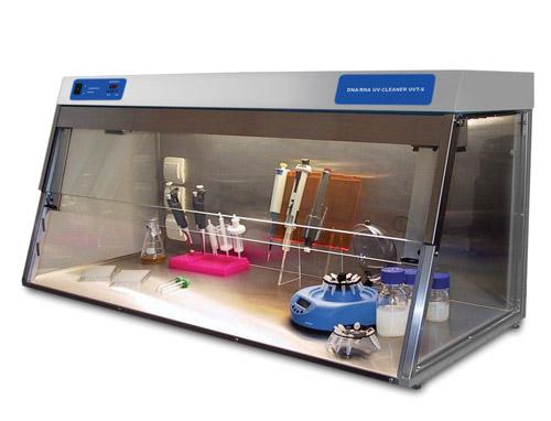 DNA/RNA UV-dekontaminační box UVT-S-AR