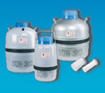 Pro transport v kapalném dusíku KB32
