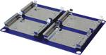 Platforma na 4 mikrodestičky